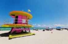 从布法罗到迈阿密,一路向南,风景不要太美 迈阿密海滩