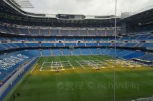 西班牙首都马德里,皇家马德里足球队迪纳乌主场,一个可以容纳5万多人的足球场