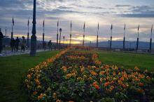 夕阳—匈牙利总统府