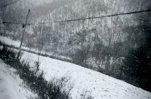 秦岭G244大雪。