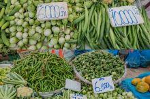 逛逛当地菜市场:万象早市 关于菜市场 去一个地方旅行,早已习惯通过市场去了解。在万象,我们打卡了当地