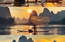 桂林小众攻略|美得窒息的日落漓江渔火 很久没来桂林了,第一次来应该是小时候爸爸带我来的……那时候看象