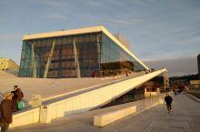 奥斯陆新歌剧院,壮观、大气。
