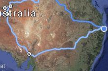 澳洲中部expedition,Palm Valley谷内生长着珍稀的红卷心菜棕榈林——来自几百万年前
