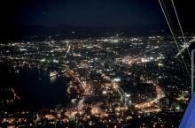 为了看夜景,在山上呆了三个小时,日本依旧美美哒