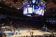 NBA game in NYC