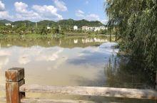 石城县中心城区温坊人工湖 垂钓爱好者的首选