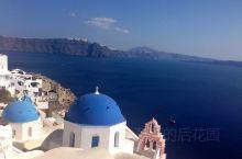 希腊圣托里尼岛—蓝白色的天堂