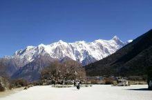 南迦巴瓦峰——从大桑树到情比石坚再到南迦巴瓦峰观景点,一步步向你靠近,再靠近,今天天气好到能清晰的看
