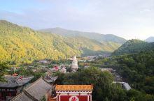菩萨顶俯瞰台怀镇