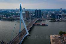 空中看鹿特丹,荷兰最现代化的一座城市!