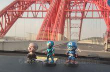 广西的来宾境内高速路上,路过了一座桥。。。如图
