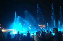 新北川步行街音乐喷泉