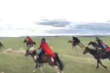 呼伦贝尔旅游,骑上奔驰的骏马奔驰在草原上!