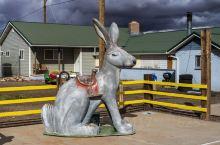对!就是这只兔子!66号公路的又一个地标!