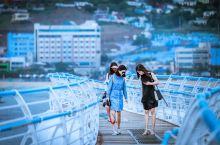 韩综热门体验:韩国最长天空步道最刺激海上缆车最美海岸徒步  与太宗台所在的影岛隔海相望的是松岛,这里