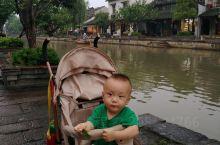 西塘古镇河边散步