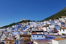 摩洛哥~一个蓝白相间的美丽小镇