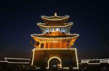 北京延庆区永宁古城夜色