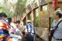 """神木园景区位于温宿县,天山神木园也被称为""""戈壁明珠""""。天山南部寸草不生的戈壁滩上却有一处郁郁葱葱的园"""