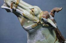 唐三彩啸马头,唐懿德太子墓出土,现藏于懿德太子墓博物馆。