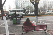 """2020年的春节马上就要到了!趁着中午还有冬日暖阳的照射,带着机灵怜爱的""""小白""""坐在街头的长椅上,笑"""