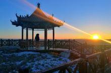【张家口】滦河神韵 北京周边好去处 绝美寒风中看日落        2018年大年初一去崇礼滑雪 因