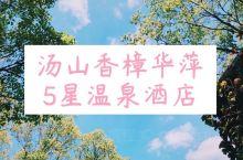 汤山温泉 | 冬日里的最南京   推荐酒店 香樟华苹温泉酒店 酒店大门及其隐蔽,但迈入酒店的瞬间,就