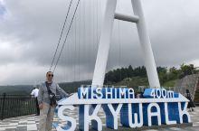 今天是在箱根游玩最后一天全程往返三岛大吊桥。
