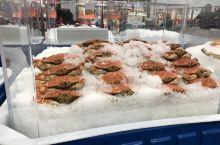 海鲜—超市看到的海鲜,都是刚刚处理后冰冻的,口感还不错。
