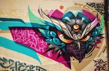马赛老城涂鸦墙