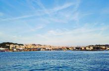 悦海船说,浯屿岛海上风光。
