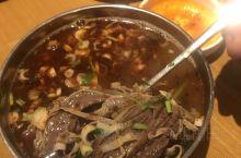 牛肉汤饭 18一位 良心肉量 米饭 咸菜管够  ( ̄▽ ̄)~*