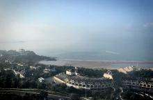 碧海蓝天,晨起阳光轻抚海面,别样的南沙风情
