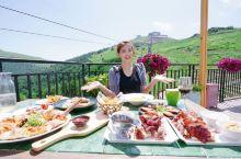 向往茜茜公主在阿尔卑斯山脚下的野餐? 向往与缆车为伴的#中餐厅#? 哈哈哈,今天莎拉不出国门也享受到