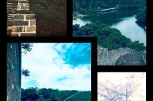 路过水长城, 来这里纯属偶然, 庆幸进来了, 可以观山观水观长城。 历史与现代的结合, 山与水的融合