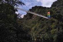 三清山逍遥谷玻璃彩虹桥