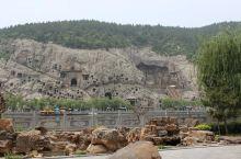 龙门石窟,被破坏了很多!