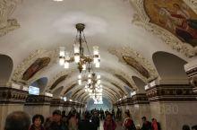 莫斯科地铁。