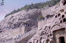 【河南·洛阳·龙门石窟】龙门石窟位于河南省洛阳市洛龙区伊河两岸的龙门山与香山上。龙门石窟与莫高窟、云
