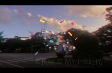 翡翠王国-瑞丽 一个小镇的晚阳