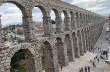 塞哥维亚古罗马大渡槽!建于公元53年,1985年列入世界遗产名录!