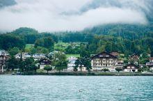 瑞士童话小镇因特拉肯(Interlaken)、布里恩茨湖(Lake Brienz)和图恩湖(Lake