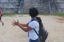 【聆听奇琴伊察金字塔的神秘回声】  奇琴伊察是建造在墨西哥尤卡坦的一座非凡的石头城。其中的一些古老的