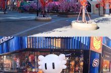 太原街太原里商业街 走在太原街的大街小巷,到处洋溢着过节的气氛,有许多市民或游客在这里驻足拍照。大家