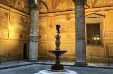 佛罗伦萨的地标之一,其实离圣母百花大教堂也很近,门口有一尊复制的大卫,因为我不知道佛罗伦萨的各种尺度