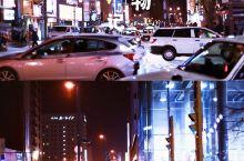 北海道|逛逛旭川的闹市,感受当地市井气! 旭川市是北海道仅次于札幌市的第二大城,临近圣诞节期间,马路