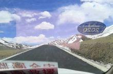 高原五月的雪!