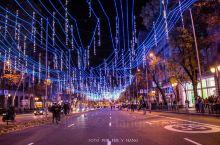 马德里圣诞集市,街灯 格兰大道    每年11月下旬至新年,整座城市的街灯都会亮起、Palaza M