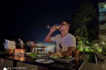 老挝万荣南松河#高档户外餐厅
